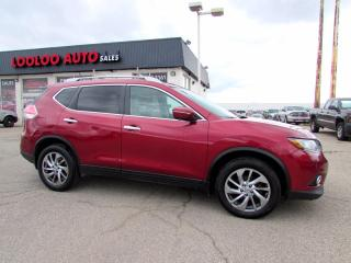 Used 2015 Nissan Rogue S AWD NAVIGATION CAMERA PANORAMIC CERTIFIED for sale in Milton, ON