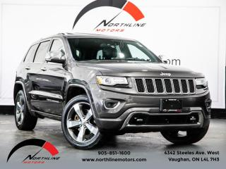 Used 2015 Jeep Grand Cherokee Overland|Diesel|Navigation|Pano Roof|Adaptive Cruise|Blind for sale in Vaughan, ON
