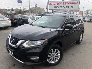 Used 2017 Nissan Rogue SV AWD Sunroof/Camera/Htd Seats/Alloys&ABS* for sale in Mississauga, ON