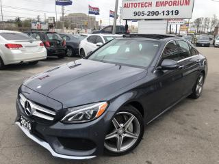 Used 2016 Mercedes-Benz C-Class C300 AMG 4Matic AWD/Parking Pkg/Light Pkg/Navigation for sale in Mississauga, ON