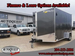 Used 2021 Stealth Cargo Trailer 7' x 12' V-Nose for sale in Winnipeg, MB