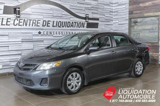 Used 2012 Toyota Corolla CE+GR/ELEC+A/C for sale in Laval, QC