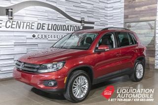 Used 2016 Volkswagen Tiguan TSI+MAGS+A/C+CAM/REC+BLUETOOTH for sale in Laval, QC