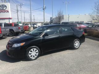 Used 2013 Toyota Corolla 4DR SDN MAN CE for sale in St-Hubert, QC