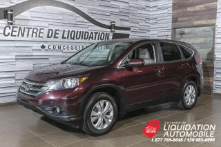 Used 2013 Honda CR-V EX-L+AWV+A/C+CAM/REC+TOIT for sale in Laval, QC