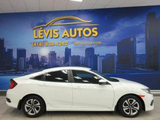 Used 2016 Honda Civic LX TOUT EQUIPE 43800KM AIR CLIMATISE BLU for sale in Lévis, QC
