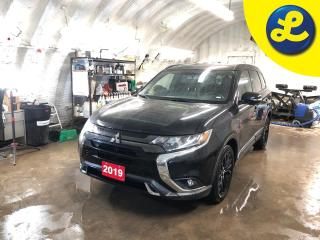 Used 2019 Mitsubishi Outlander Black Edition * 4WD * 7 Passenger * Blind spot assist * Power sunroof * Semi Leather interior * Black alloy rims * Roof rails * Passive/keyless entry for sale in Cambridge, ON