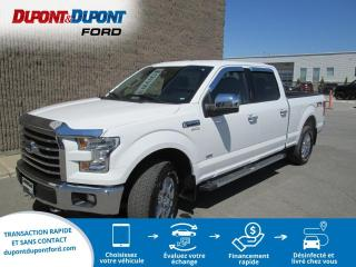 Used 2017 Ford F-150 Cab SuperCrew 4RM 145 po XLT for sale in Gatineau, QC