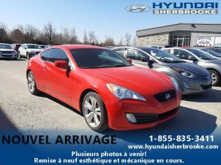 Used 2011 Hyundai Genesis 2.0T+MANUELLE+MAGS 18+BLUETOOTH for sale in Sherbrooke, QC