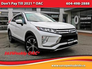 Used 2018 Mitsubishi Eclipse Cross SE S-AWC $63 Weekly OAC* for sale in Surrey, BC