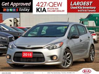 Used 2016 Kia Forte5 SX LUXURY | LEATHER | NAVIGATION | SUNROOF for sale in Etobicoke, ON