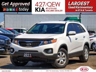 Used 2011 Kia Sorento LX V6 | Bluetooth | Push Start | Voice Command for sale in Etobicoke, ON