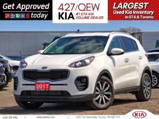 Used 2017 Kia Sportage EX FWD | CLIMATE CTRL | ANDROID AUTO | BACKUP CAM for sale in Etobicoke, ON