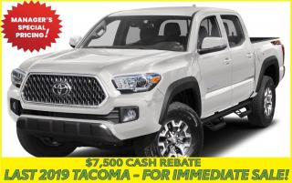 New 2019 Toyota Tacoma TRD Off Road TRD PRO for sale in Stouffville, ON