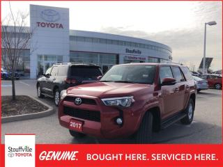 Used 2017 Toyota 4Runner SR5 Certified - Running Boards installed - One Owner for sale in Stouffville, ON