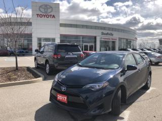 Used 2017 Toyota Corolla LE One owner - Certified - Low KMs for sale in Stouffville, ON