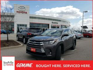 Used 2017 Toyota Highlander XLE Package - One Owner - Remote Starter - Navigation - for sale in Stouffville, ON