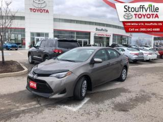 Used 2018 Toyota Corolla LE Certified - One Owner - 2 Sets of Tires with Rims for sale in Stouffville, ON