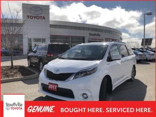 Used 2017 Toyota Sienna SE 8 Passenger - 4 New Tires + Snow tires on Rims - One Owner for sale in Stouffville, ON