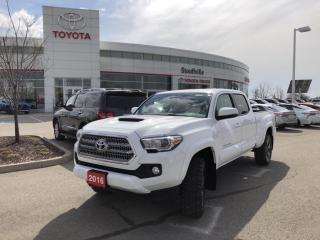 Used 2016 Toyota Tacoma SR5 TRD SPORT UPGRADE - POWER MOONROOF - WIRELESS CHARGING for sale in Stouffville, ON