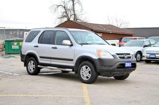 Used 2003 Honda CR-V EX for sale in Brampton, ON