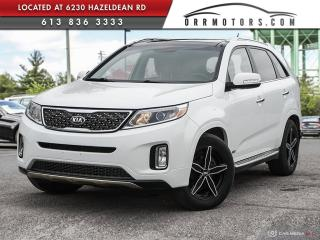 Used 2014 Kia Sorento AWD SX LOADED! for sale in Stittsville, ON