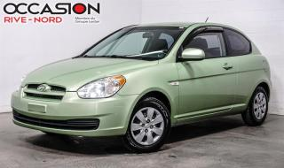 Used 2011 Hyundai Accent Hatchback Man GL for sale in Boisbriand, QC