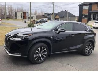 Used 2017 Lexus NX 200t F-Sport-2 *Cuir-Rouge! Red-Leather! *Tech-pkg for sale in St-Hubert, QC