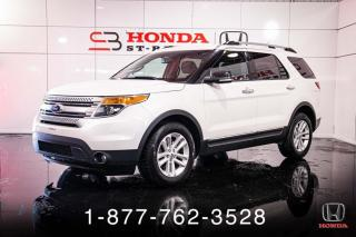 Used 2014 Ford Explorer XLT + AWD + 7 PASS + V6 + WOW! for sale in St-Basile-le-Grand, QC