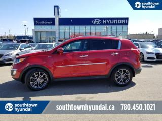 Used 2012 Kia Sportage SX/PANO SUNROOF/LEATHER/260HP for sale in Edmonton, AB