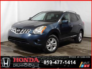 Used 2013 Nissan Rogue AWD +SV +SIEGE CHAUFF+BLUETOOTH+REGVIT for sale in Drummondville, QC