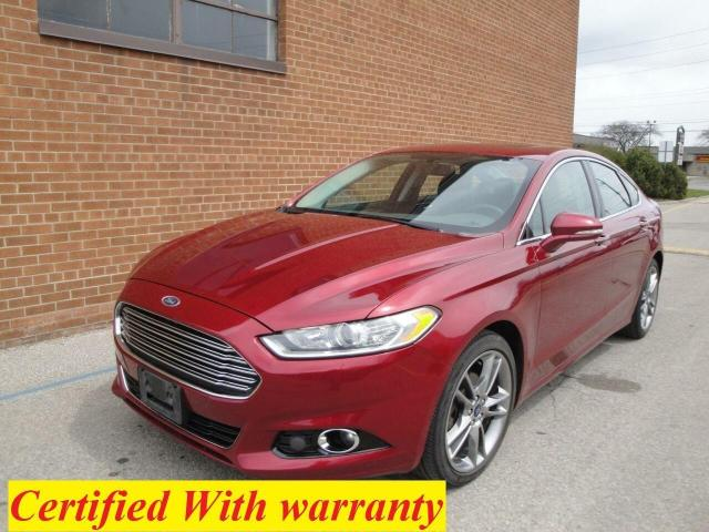 2015 Ford Fusion Titanium AWD /ONE OWNER