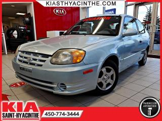 Used 2004 Hyundai Accent GS Coupé 3 portes ** AUTOMATIQUE for sale in St-Hyacinthe, QC