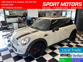 Used 2013 MINI Cooper Baker St+USB/AUX+New Tires+Panoramic Roof for sale in London, ON