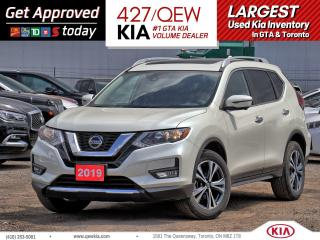 Used 2019 Nissan Rogue SV Tech AWD | NAVI | SENSOR | SMART CRUISE for sale in Etobicoke, ON