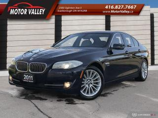Used 2011 BMW 5 Series 535i xDrive  AWD NAVIGATION - NO ACCIDENT! for sale in Scarborough, ON