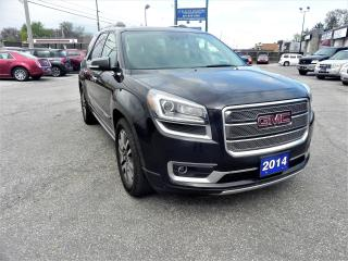 Used 2014 GMC Acadia Denali AWD Fully Loaded for sale in Windsor, ON