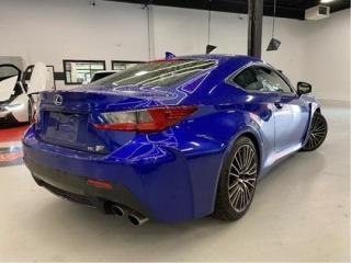 Used 2015 Lexus RC F F I COUPE   V8   F-SPORT   NAVI   INCOMING for sale in Vaughan, ON