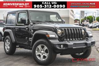 New 2020 Jeep Wrangler SPORT S | REMOTE START | 7in DISPLAY | for sale in Hamilton, ON