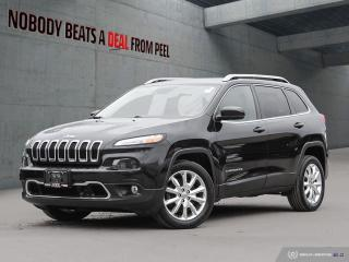 Used 2016 Jeep Cherokee FWD 4dr Limited*New Tires*Rem Start*Tech Grp*GPS* for sale in Mississauga, ON