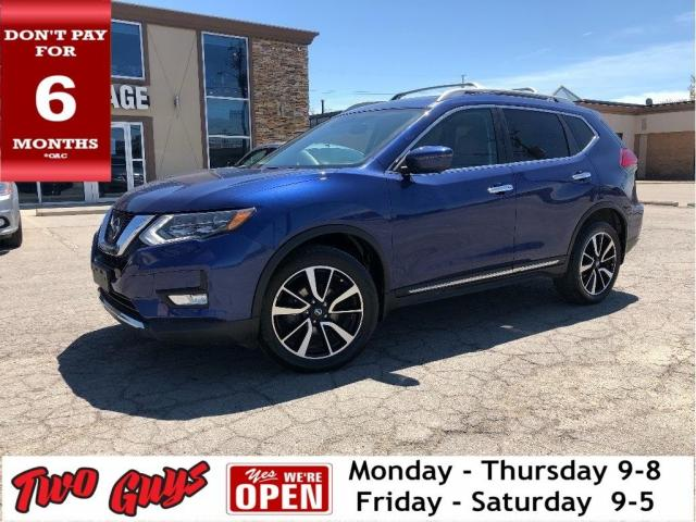 2017 Nissan Rogue SL |  Brown Leather | Panoroof | Nav | AWD