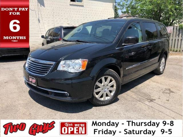2015 Chrysler Town & Country Touring | Pwr Hatch | Bluetooth | B/Up Cam