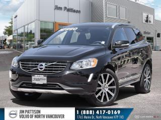 Used 2017 Volvo XC60 T6 Drive-E Premier - LOCAL - POLESTAR EQUIPPED for sale in North Vancouver, BC