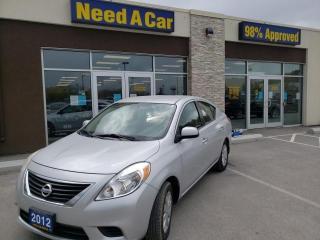 Used 2012 Nissan Versa 1.6 SV (CVT) A/C, POWER WINDOWS/LOCKS/MIRRORS for sale in Trenton, ON