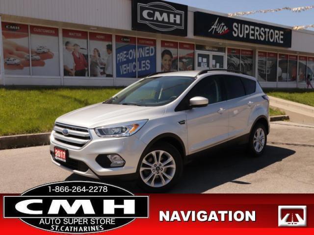 2017 Ford Escape SE  NAV HTD-STS REAR-CAMERA BLUETOOTH