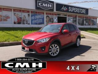 Used 2014 Mazda CX-5 GT  AWD NAV ROOF LEATH CAM HS P/SEAT for sale in St. Catharines, ON