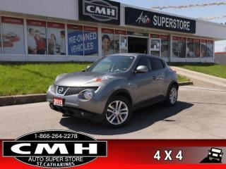 Used 2013 Nissan Juke SL Leather Navigation Package  AWD NAV for sale in St. Catharines, ON
