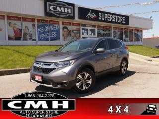 Used 2017 Honda CR-V LX  AWD CAM HTD-STS BLUETOOTH ALLOYS for sale in St. Catharines, ON