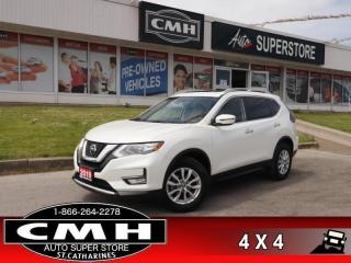 Used 2019 Nissan Rogue AWD SV  AWD PANO REAR-CAM HS P/SEAT for sale in St. Catharines, ON