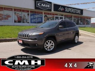Used 2018 Jeep Cherokee North  V6 4X4 CAM HS HTD-S/W REMOTE BT for sale in St. Catharines, ON